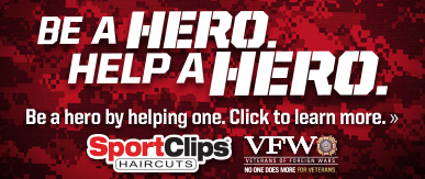 Sport Clips Haircuts of Millersville​ Help a Hero Campaign